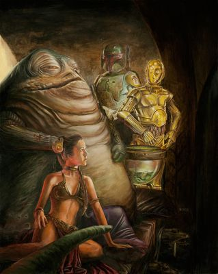 Jabba's Throne by kohse