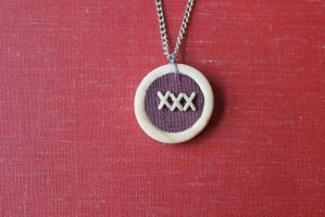 XXX Pendant by BlueSpecsStudio