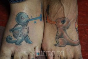 pokemon tattoo by mange