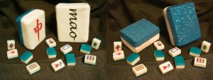 Mahjong Tile Plushies by Meowchee