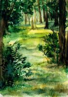 Watercolour landscape 4 by julitka