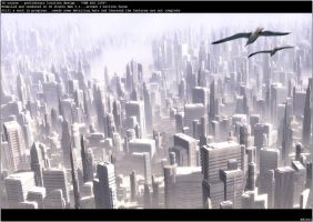 3D - location 05 - Big City 02 by RobertFriis