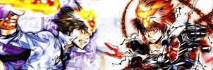 Katekyo Hitman Reborn Banner by abc456
