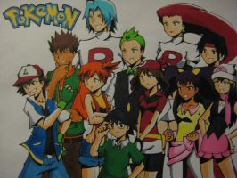 All Pokemon Characters 2 by maimai97