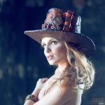 Steampunk hat by julishland