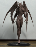Cthulhu sculpture scale 1:1 by Khempavee