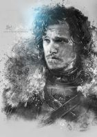 Jon Snow by Etienne-Ripzaad
