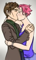 Lupin and Tonks by aliceazzo