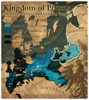Civilization 5 Map: Kingdom of Prussia by JanBoruta