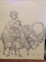 Ordon Link by Dylanlrogers