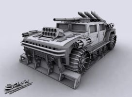 HUMMER_TANK by supersoufy