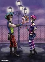Young punk love by sw
