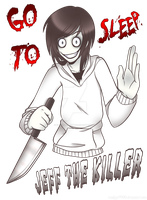 Jeff the Killer by emoLove9900