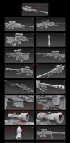 Contention: UNMC M-130 Sniper Rifle (Remake) by Malcontent1692