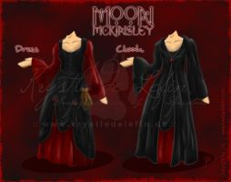 Moon McKinsley :: Outfit by MooneyeKitsune