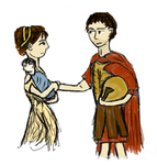 Hector and Andromache by RedOctoberRising
