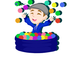 Jacksepticeye with balls by Chinsei-suru