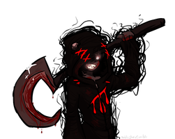 grimdarkreaper by queenofdavekat