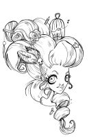 rococo hair by strangename