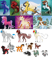 Miixed Adopts by Wolfh15