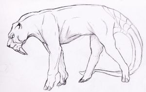 Tusk Cat by TheRecurrent