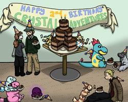 Crystal Adventures 2nd BDay by pan77155