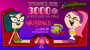 Grojband - Trina and Mina in Double Stocks by 100latino