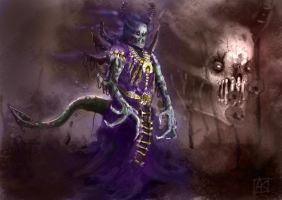 Undead Overlord by ne0n1nja