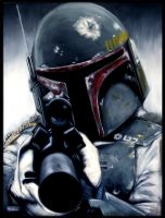 Boba Fett by crossofnailsstudio