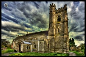 St Peter's Church - Church Lawford by MikeyMonkey