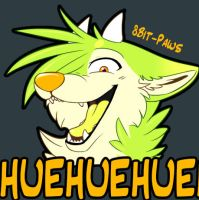HUEHUEHUEHUEHUE -animated gif !!SEIZURE WARNING!! by TrelDaWolf