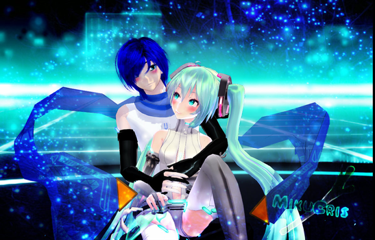 Miku e Kaito append version by MikuCris