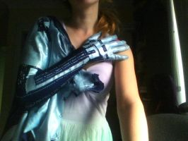 Cortana right arm completed by SpartanJenzii