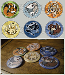 Animal Buttons by xAshleyMx