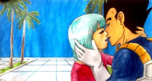 Before you vanish again (Vegeta/Bulma) by itoshii-sanagi