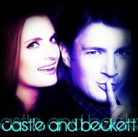 Castle and Beckett by bubblenubbins