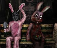 Part Time Easter Bunny by CyberII