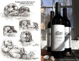 Timark Wine Label by screwbald