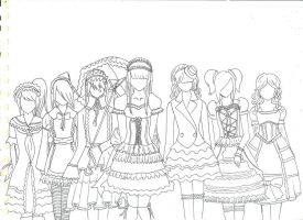 Gothic Lolita WIP by LifeHasStarted