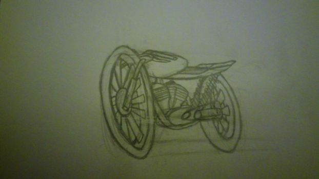 cafe racer 1st try by ch1ch1m4ru