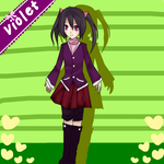 Violet, Redesigned. by Thira1999