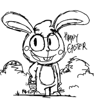 EASTER'S MASCOT by Mr-Evilness