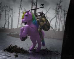 Death Pony by RawArt3d