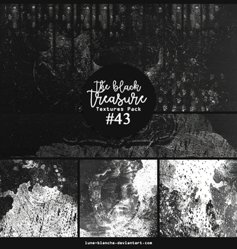 Textures pack #43 - The black treasure by lune-blanche