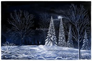 Snowscape by aviagua