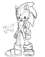 sonic sketch by thefallenone3296