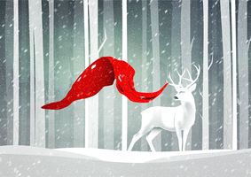 The rare reindeer by kovangfx