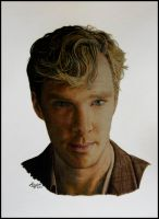 Benedict Cumberbatch by OzVisual