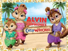 chipettes wallpaper by johnnychipmunks2