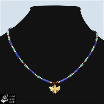 Tears of Ra Egyptian Design Necklace by GoodSpiritWolf